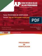 Semana 4 - Programas de Verificacion(1)