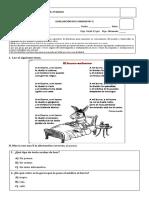 Evaluación 2º básico