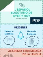 Español Bogotano