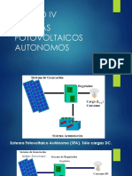 UNIDAD IV sistemas fotovoltaicos autonomos