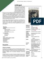José Carlos Mariátegui -Vida y Obra