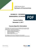 Econ3121 Econ5321 Managerial Economics s22017