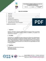 4646 Ppdp015 Procedimiento Revision y Ajuste de Las Bases de Datos Sysman