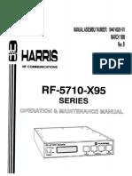 95269497 Rf 5710 x95 Series Manual de Operacion y Mantenimiento