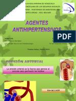 Agentes Antihipertensivos Dra. Eunice Mejias