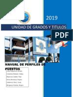 Manual de Perfiles y Identificacion de PROCESOS