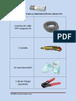 Materiales Para La Preparación de Cables Utp