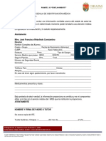 Cédula de Identificación Médica
