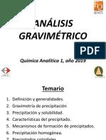 Analisis Gravimetrico 2019 (Parte 1)