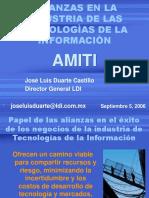 Alianzas en La Industria de Ti for Amiti 09 06