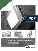 FMV LED Series Floodlight Fixtures