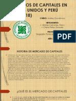 Mercado de Capitales de Peru y Estados Unidos(2010-2018)
