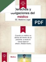 Derechos y Obligaciones Del Médico