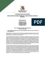 TALLER 1  GESTION AGUA POTABLE  LEGISLACIÓN  PRECIPITACIÓN E HIDROMETEOROLOGÍA 2019