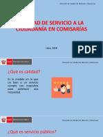 PPT Calidad de Servicio a La Ciudadanía