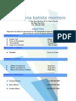 Carolina Batista Montero