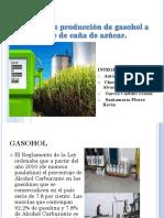 Proceso de Produccion de Gasohol