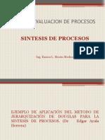 Presentación7 Sintesis Procesos-Douglas Heuristico Ejercicio