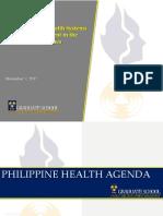 5 Philippine Health Agenda