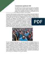 ACONTECIMIENTOS  MAS RELEVANTES DE LA EPOCA