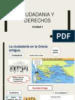 Materia de Educación para la Ciudadanía 1ro BGU