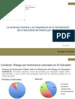 Amenaza Sísmica Douglas Hernández CASALCO2018