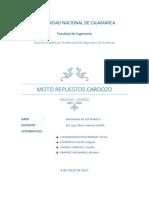 Moto Repuestos Cardozo Anlaisis Diseño