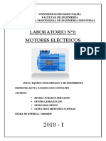Lab 01 - Motor Electrico