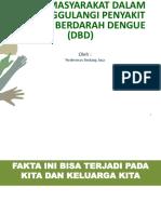 Penyuluhan DBD Dan Lingkungan Di Kel Cisauk