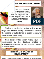 Mode of Productions Final