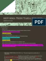 Reforma Tributaria 2018-2019