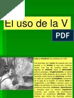 El Uso de La V_español3