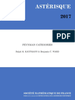 [Asterisque 387] Ralph M. Kaufmann, Benjamin C. Ward - Feynman Categories (2017, Société Mathématique de France)