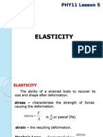 PHY11 Lesson 5 Elasticity.pptx
