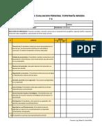 Evaluacion Personal Proyecto Final