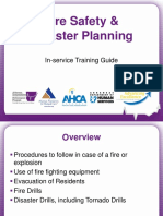Fire Safety Disaster Planning