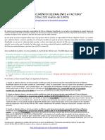 Modelo Documento Equivalente a La Factura