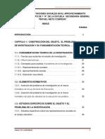 Proyecto de Tesis de Maestria Sobre Representaciones Sociales