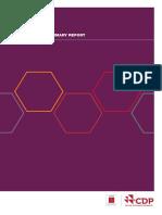 Cdp Act Executive Summary