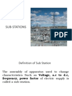 Substations Modified