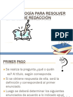 Metodo Resolver Plan Redaccion