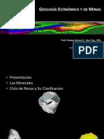 01 - Geologia Economica - Los Minerales y Las Rocas