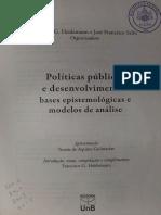 Dye - mapeamento de políticas públicas