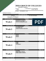 Accounting MSC