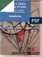 Punto y linea de kandinsky