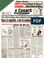 Le Canard Enchaîné N4688 du 1 Septembre 2010