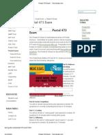 Postal 473 Exam - Test-Guide