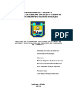 Motivos de Aceptación y Rechazo en Alumnos de Séptimo y Octavo Básico de Colegios de La Región de Tarapacá