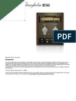 Manual Compresor DC1A3
