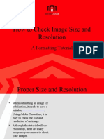 How to Check the Image Size and Resolution